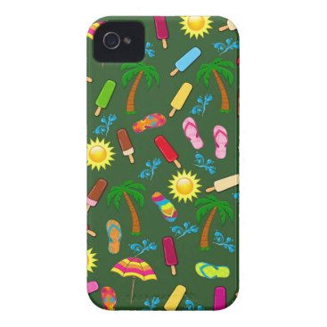 Beach Themed Beach Pattern Case-Mate iPhone 4 Case