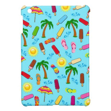 Beach Themed Beach Pattern Cover For The iPad Mini