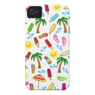 Beach Pattern iPhone 4 Cover