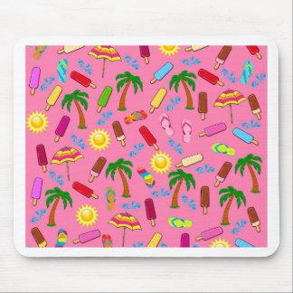 Beach Pattern Mouse Pad