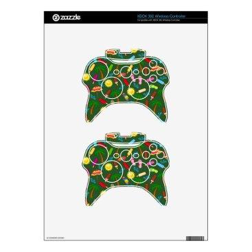 Beach Themed Beach Pattern Xbox 360 Controller Skin