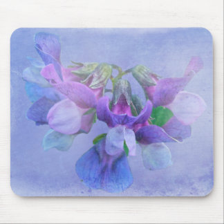 Beach Pea Flowers Mouse Pad