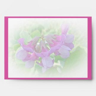 Beach Pea Thank You  - Lathyrus japonicus Envelope