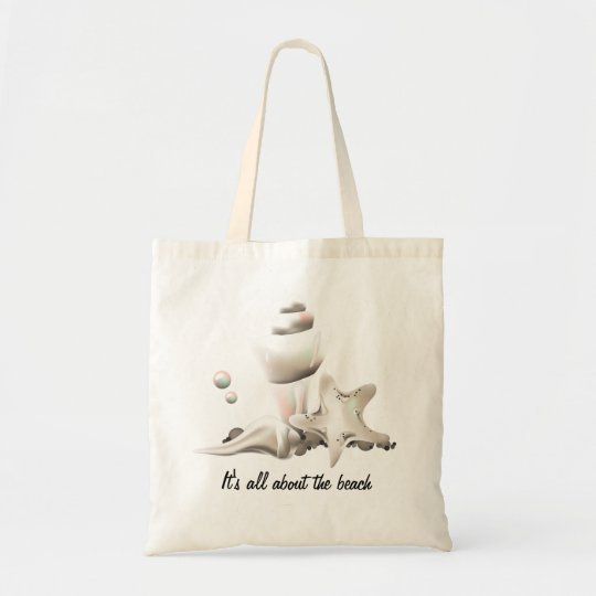 Beach Pearly Seashells Tote Bag