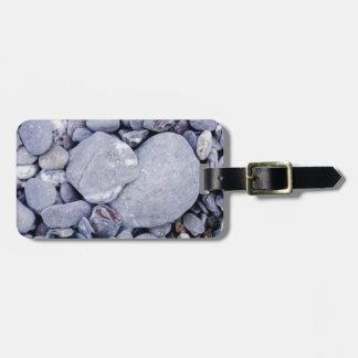 Beach pebbles bag tags