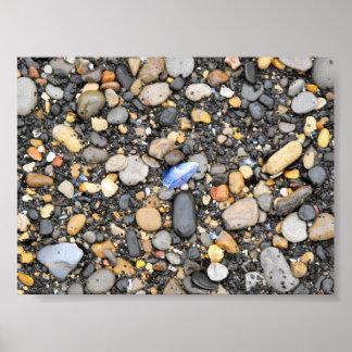 Beach Pebbles - Canvas Poster