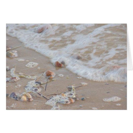 Beach Pebbles Card