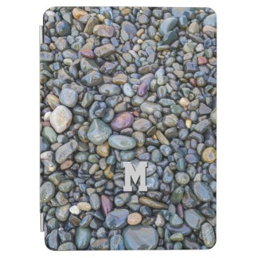 Beach Themed Beach Pebbles custom monogram device covers