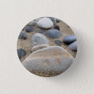 Beach Pebbles Photo Button / Badge