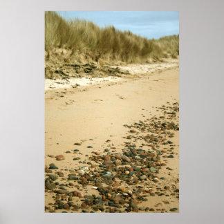 Beach & Pebbles Print