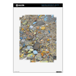 Beach Pebbles Decals For iPad 3