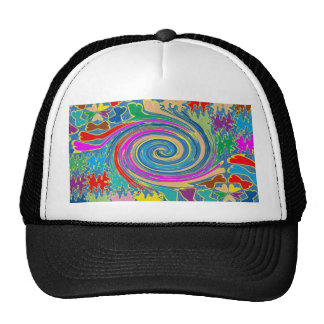 Beach Pebbles Whirlwind Tornado Waves FUN Seashore Trucker Hat