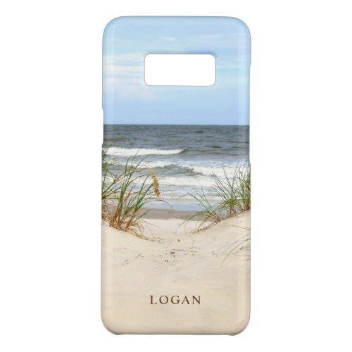 Beach Personalized Case_Mate Samsung Galaxy S8 Case