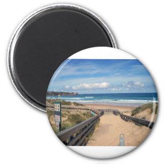 beach philip island australia magnet