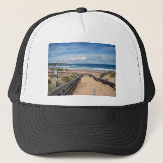 beach philip island australia trucker hat
