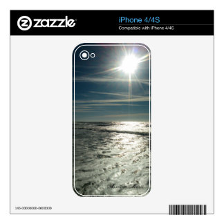 Beach phone skins decal for the iPhone 4S