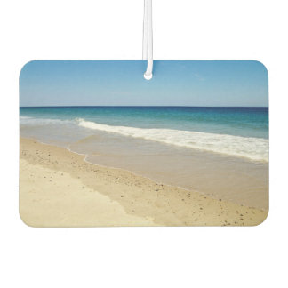 Beach photo air freshener