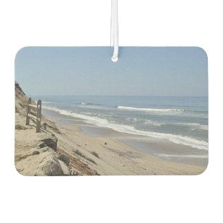 Beach photo car air freshener