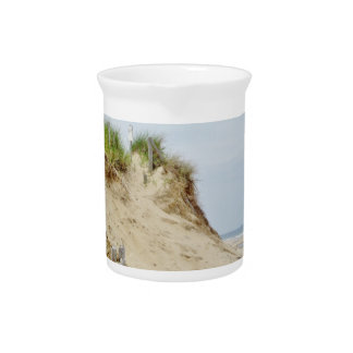 Beach photo drink pitcher
