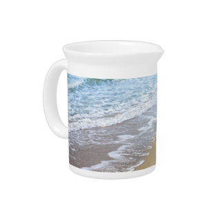 Beach photo drink pitchers