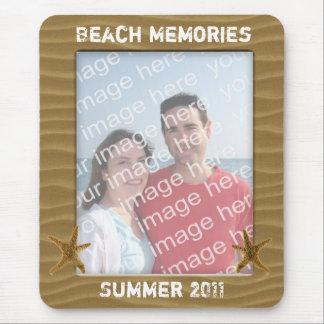 Beach Photo Frame Mousepad