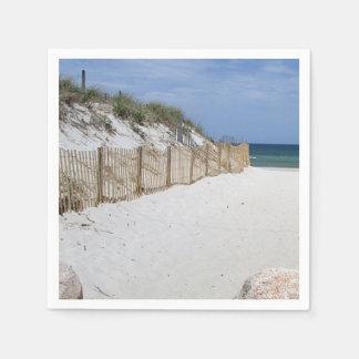 Beach photo napkin
