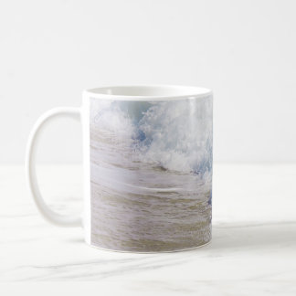 Beach Photography Coastal Art  Sea Wave Coffee Mug