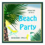Beach Picnic Party Summer Fun Invitation 2