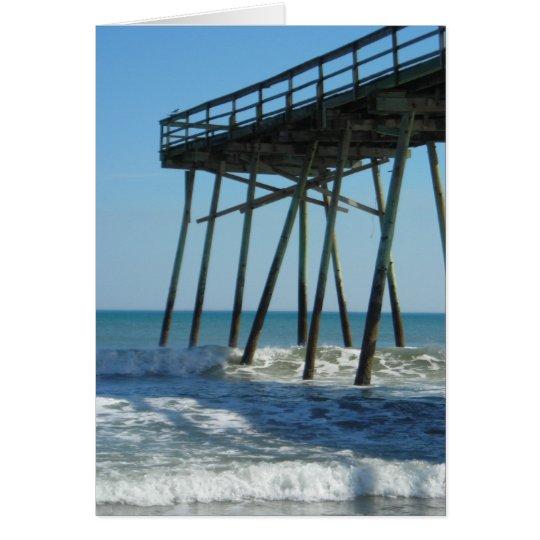 Beach Pier Card