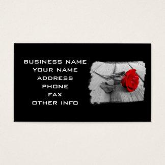 BEACH PIER ROSE BUSINESS CARD