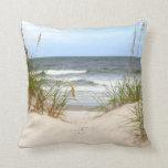 Beach Pillow at Zazzle