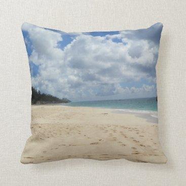Beach Themed Beach Pillow