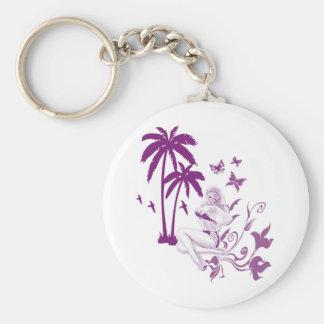 Beach Pin-Up Keychain