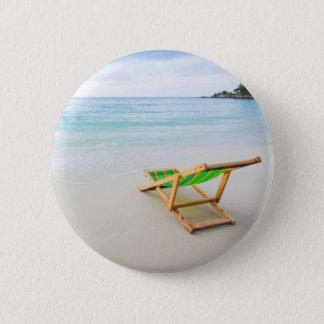 Beach Pinback Button