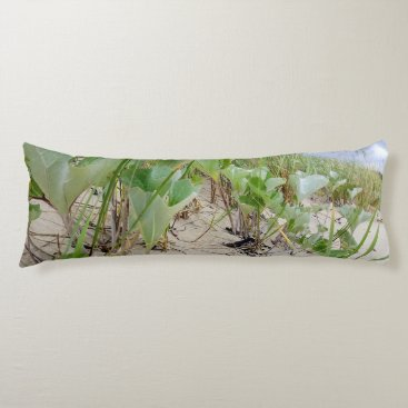 Beach plants summer body pillow