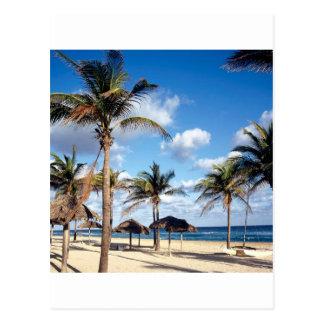 Beach Playas Cuba Postcard