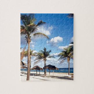 Beach Playas Cuba Jigsaw Puzzle