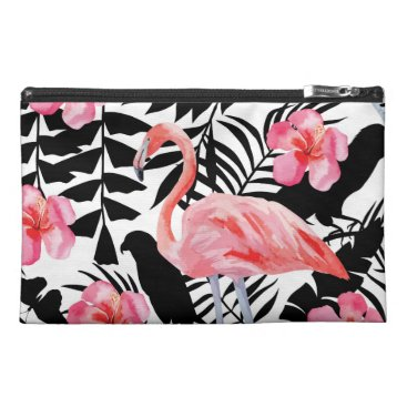 Beach Themed Beach Please | 2-sided tropical print travel pouch Travel Accessories Bags