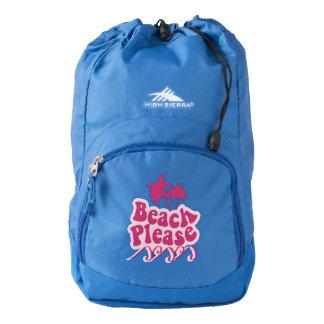 Beach please backpack