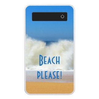 Beach Please! Beach scene power bank