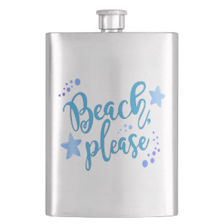 Beach Please Flask