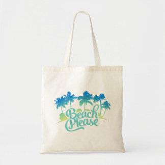 Beach Please Bags & Handbags | Zazzle