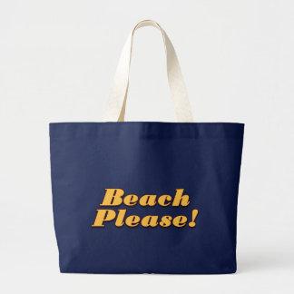 Beach Please! Jumbo Tote Bag