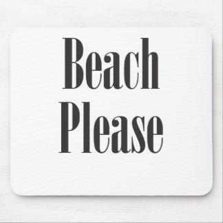 Beach Please Mouse Pad
