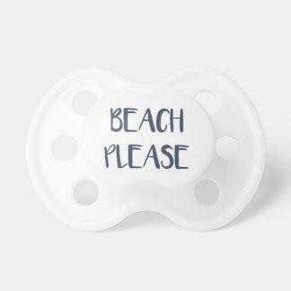 Beach Please Pacifier