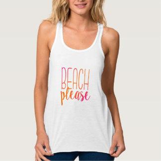 Beach Please | Pink and Orange Tropical Tank