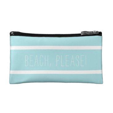 Beach Please Pouch Makeup Bag
