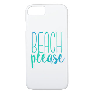 Beach Please | Turquoise Ombre Case