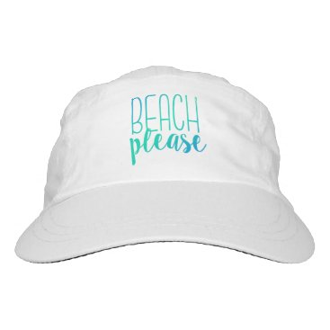 notablenovelties Beach Please | Turquoise Ombre Hat
