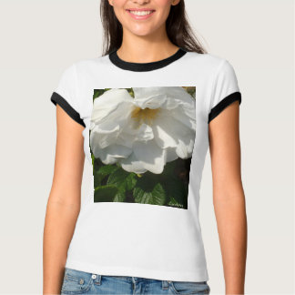 Beach Plum White Rose T-Shirt